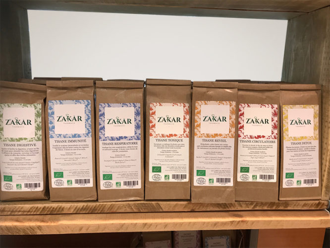 Tisanes Pharmacie Zakar